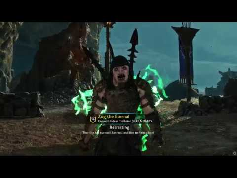 Middle-Earth: Shadow of War Zog the Eternal Returns