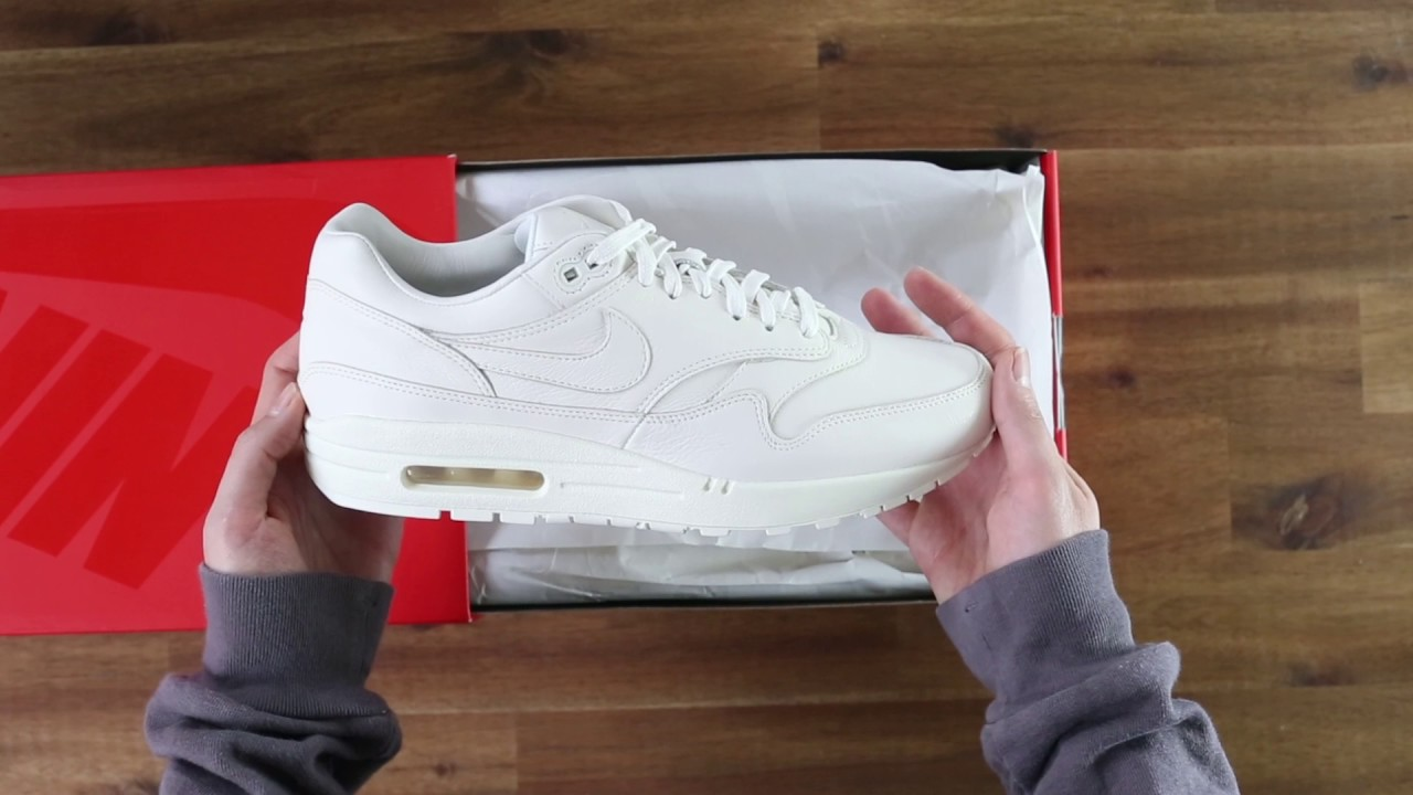 NikeLAB Air Max 1 Pinnacle White