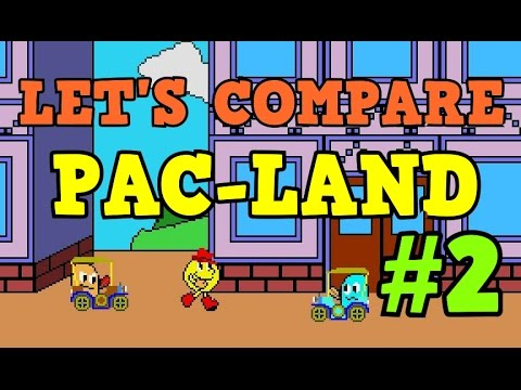 LET'S COMPARE #2: PAC-LAND by Sala Giochi 1980