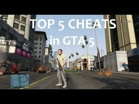GTA 5 TOP 5 CHEATS in GTA 5 die besten Cheats