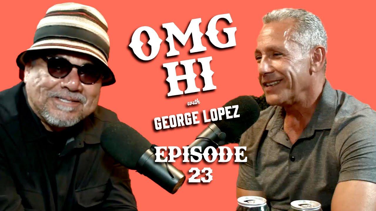 George Lopez Podcast OMG Hi! Ep 23 Angelo Pagan