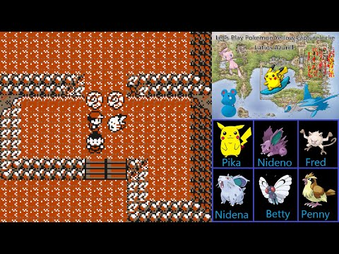Let's Play Pokemon Yellow Capturelocke:  Part 5 - Helix Or Dome?