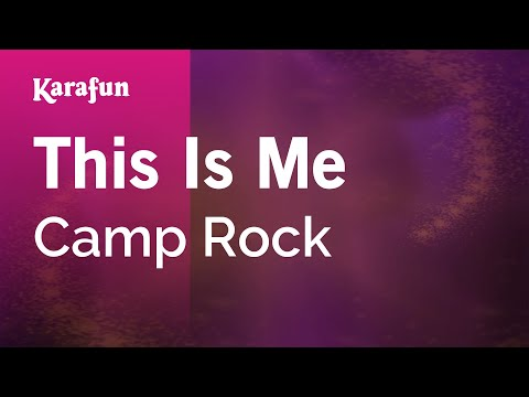 Karaoke This Is Me - Camp Rock *
