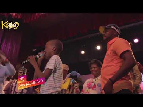 "When 13-Year-Old Rapper  ""Megabyte"" Shocks Odunlade Adekola and Seyi Law With Rap"