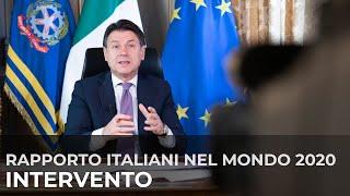 Download Mp3 Il Presidente Conte In Videocollegamento Alla Presentazione Del Rapporto Italian
