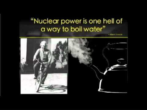 Inefficiency of Nuclear Power: 40% more thermally polluting than coal, gas or oil!