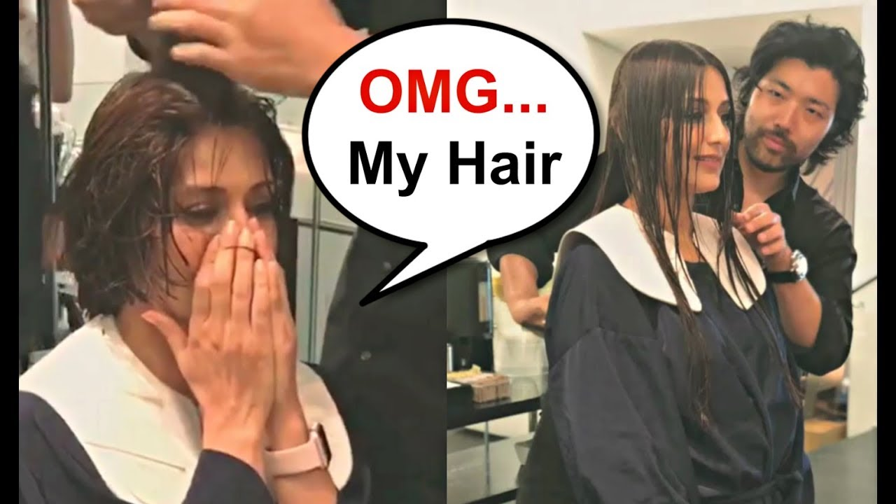 Sonali Bendre Gets Emotional During Her Haircut For Cancer Treatment