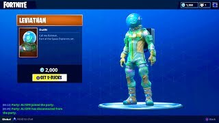 "NEW ""LEVIATHAN"" OUTFIT (Fisherman Skin) - Fortnite Battle Royale"