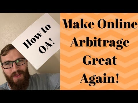 How to do Online Arbitrage for Beginners in 2018|How to do OA for FBA From Home|Make OA Great Again