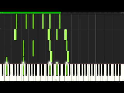 Brigmore Lullaby - Dishonored 2 [Piano Tutorial] (Synthesia) // Seraph Piano Sheets