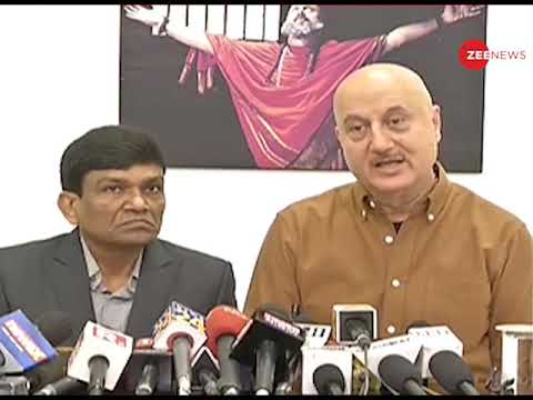 Anupam Kher on 'The Accidental Prime Minister': We did not promote the film till censor approved it