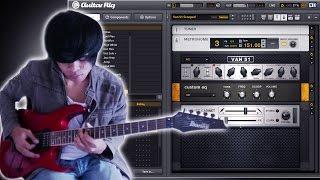Cara Menjadikan Komputer Sebagai Efek Gitar menggunakan software GUITAR RIG 5 FULL VERSION