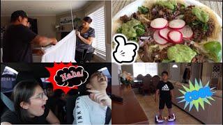 No se le cumplió su antojo 🍨 Tacos de carne asada 🌮 Cortinas limpias
