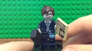 Розпакування Lego мініфігурка 14 серії (Зомбі Бізнесмен)