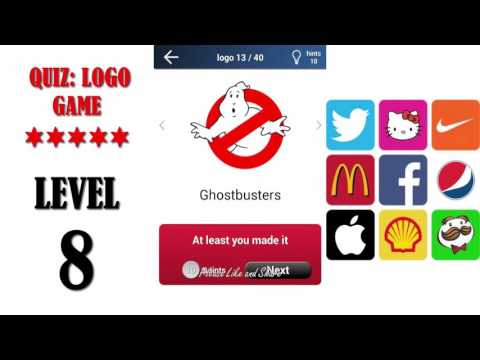 Quiz: Logo Game Level 8 - All Answers - Walkthrough ( By Lemmings At Work )