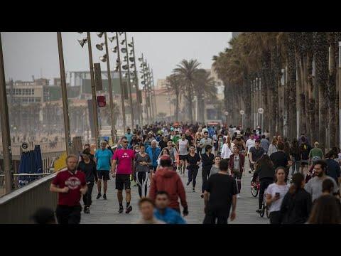 فرض تدابير عزل على نحو 200 ألف شخص في إقليم كاتالونيا الإسباني بسبب تفشي كورونا…  - نشر قبل 20 ساعة
