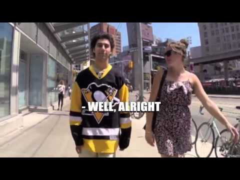 10 Hours of walking in Toronto with a Kessel Penguins Jersey On