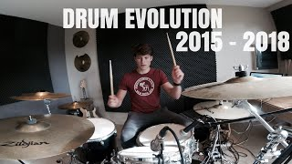 My drum progress (3 years) - AVE drums