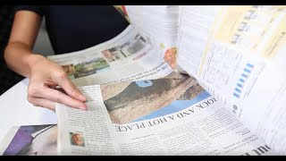Want to experience more newspaper sounds in stereo? subscribe the arizona republic at www.azcentral.com/subscribe. #asmr #arizona #unintentialasmr for mor...