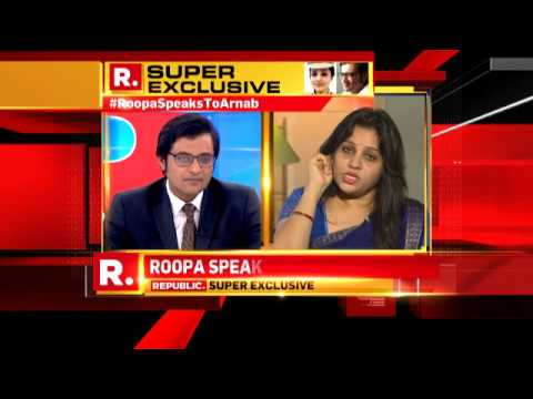 Roopa on Sasikala's Privileges
