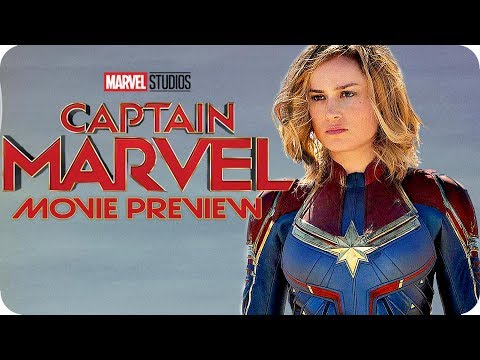 CAPTAIN MARVEL Movie Preview & Character Breakdown (2019) MCU
