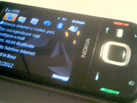 CELLULARE NOKIA N85 WIFI MAPPE