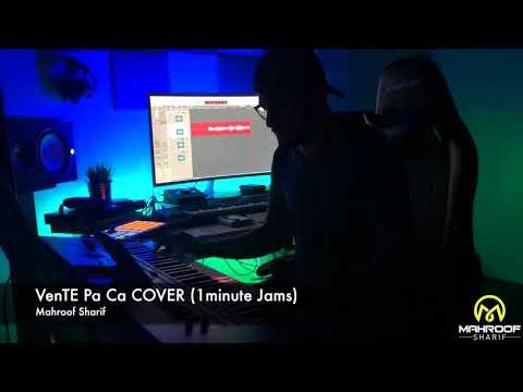 Vente Pa Ca Cover (1MinuteJams) Live Keyboard Instrumental- Mahroof Sharif 2019 HD