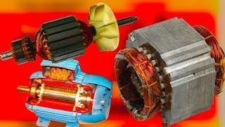 Чем отличается асинхронный электро двигатель от синхронного, как устроен электро двигатель