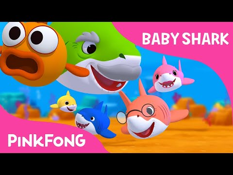 Ba Shark  Sing and Dance!  Animal Songs  PINKFONG Songs for Children