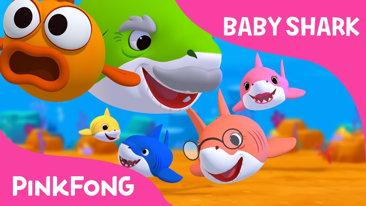 Baby Shark Sing And Dance Animal Songs Pinkfong