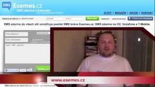 Esemes.cz -- posílejte SMSky ZDARMA a bez opisování kódů do všech mobilních sítí