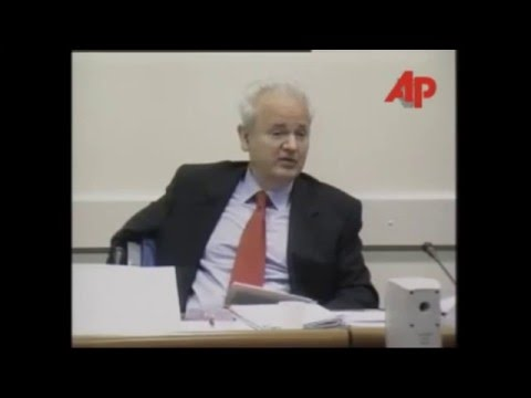Slobodan Milosevic u Hagu- Najbolje izjave 1 deo!!!