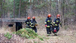 Pożar przy ul. Przemysłowej