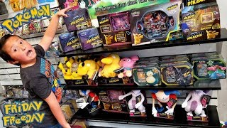 OPENING AN ENTIRE STORE OF DETECTIVE PIKACHU MOVIE POKEMON CARDS ALL FOR ONE SUPER RARE CARD! FF #97