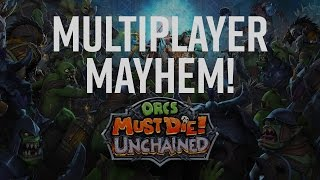 Orcs Must Die!: Unchained Review - Must Play Multiplayer Mayhem! (Video Game Video Review)
