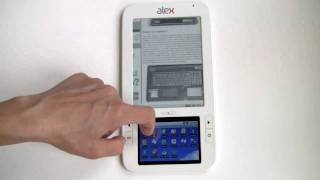 Spring Design Alex eBook Reader Video Review