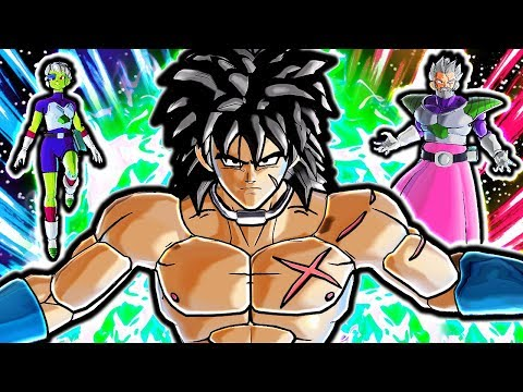 NEW VAMPA BROLY PACK! Dragon Ball Xenoverse 2 DLC Quality Movie Broly ALL TRANSFORMATIONS Gameplay