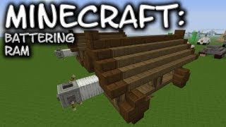 Minecraft: Battering Ram Tutorial
