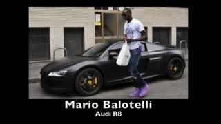 Los Autos de Lujo de Messi, Rooney, Nani, Balotelli,etc...