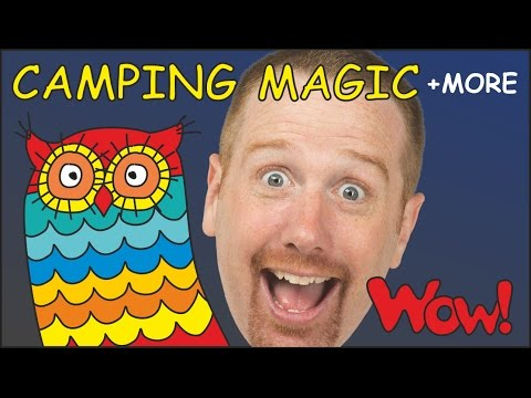 Thumbnail: Camping Magic English Stories for Kids from Steve and Maggie | Learn English with Wow English TV