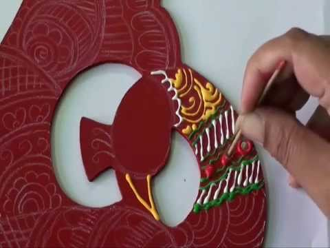 Cone painting with ceramic cones tutorial youtube for Mural work using m seal