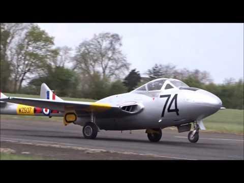 Vampire Rips up runway at Halfpenny Green