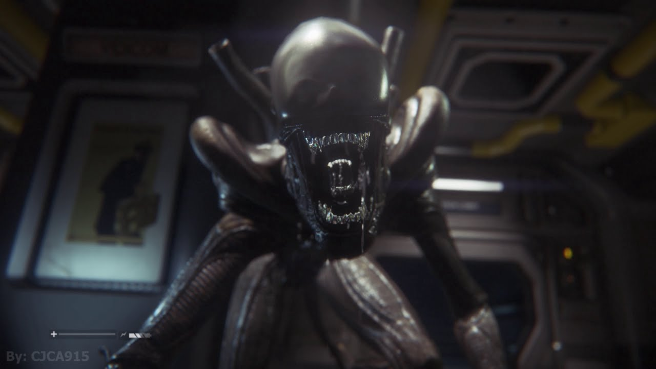 Alien: Isolation Gameplay Part 6 - Aliens vs Androids ...