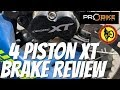 Shimano XT 4 Piston Brake Review (8020)