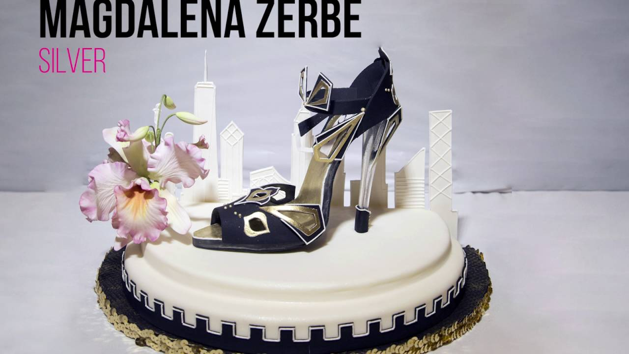Lisa Mansour S 2017 Ny Cake Show Winners In The Shoe Category