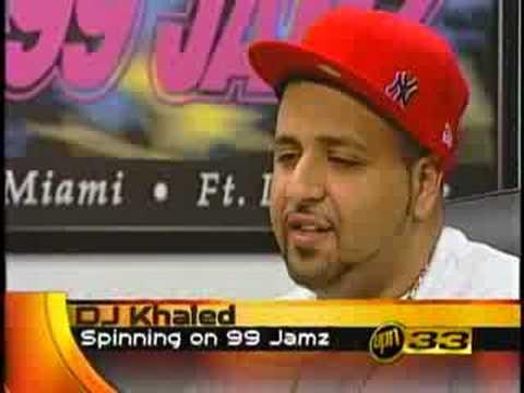 DJ Khaled's FIRST TV Interview. (2002) CBS Reporter Shomari Stone Reports