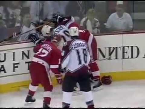 WESTERN CONFERENCE FINALS 1997 (complete series) - Detroit Red Wings vs. Colorado Avalanche - ESPN