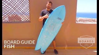 Surfboard Guide - Fish