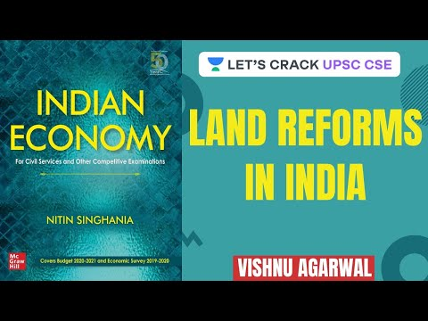 L15: Land Reforms in India | Crack UPSC CSE 2020 | UPSC CSE/IAS 2020 | Vishnu Agarwal