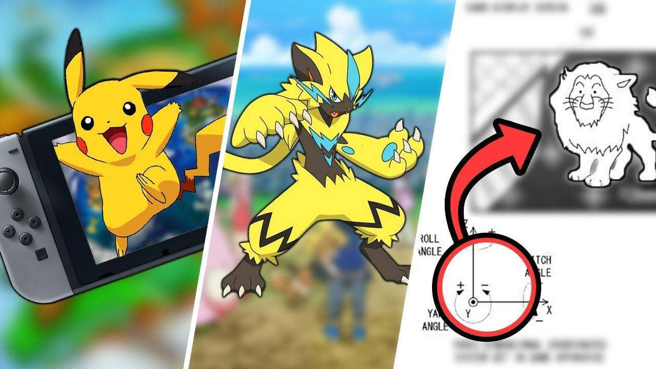 Pokémon Switch Update, Zeraora Release Date Leaked & Amiibo Pokémon Cards?!